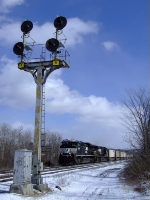 169 passing the old signals at Gage road