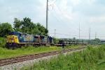 CSX military train W863