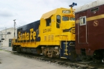 ATSF 2546 sits next to the New Sherwood Inn 5/25/09
