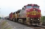 BNSF 643 & UP 4151