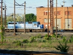 Ex Conrail sd40-2 soaking up the sun.