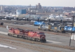 CP 9734 & 9636 in Oak Island Yard