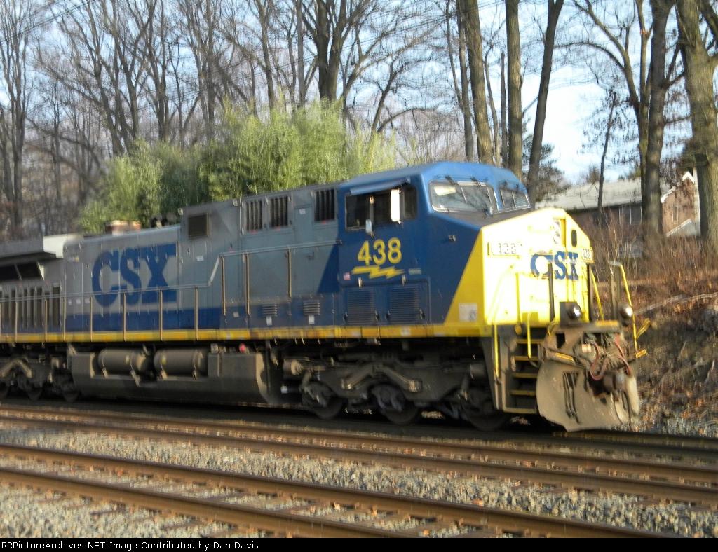CSX 438 CSX S439-02