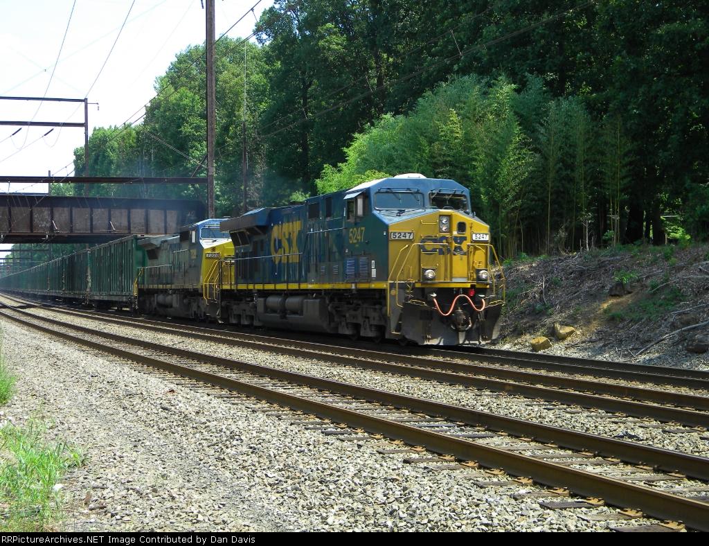 CSX 5247 Q703-17