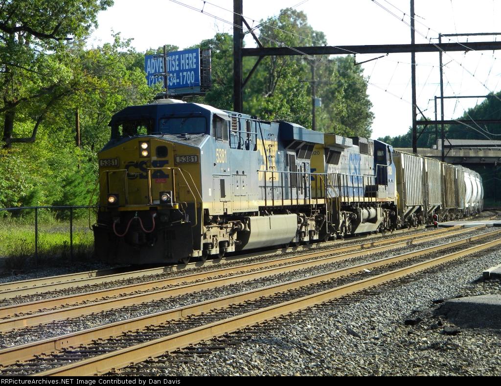 CSX 5381 Q438-13