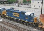 CSX 6017 on SB freight