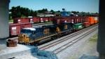 CSX 5324 leads an Intermodal towards CP Draw