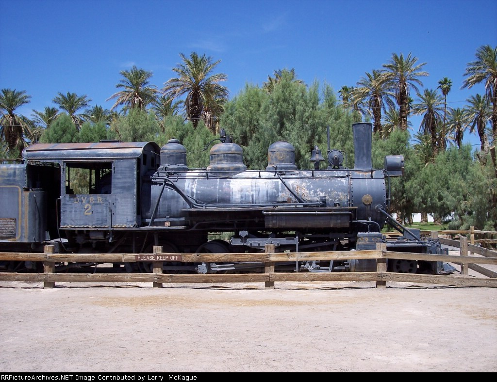 Death Valley Railroad Locomotive #2