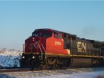CN 2194 leads an IC '70 on a northbound