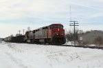 CN 2445 on the point of a northbound
