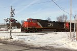 CN 2696 is the leader on the next southbound