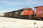CN 5739 and 2205 are mid-train DPUs on this SB manifest