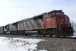 Dual EMD 710s rumble as A491 approaches Green Rd.