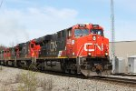 CN 2258 with four other high HP six axle motors behind on M346 south