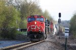 CN 2233 first of 5 4k+ HP motors all elephant style rattling the CP diamonds with M341