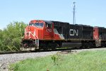 CN 5762 leads the second southbound that L510 has to meet before it can go north