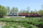 All four-axle WSOR power on today's JH