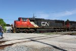CN 5795 leads five other units on a southbound