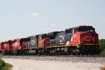 CN 2171 with train A491 and a nice surprise prepares to make its set-out