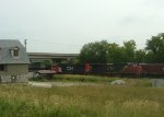 IC 2702 and 5719 power a southbound intermodal train