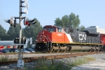 CN 8867 leading M342 toward Green Rd.