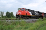 CN 2247 leads the first NB manifest of the day