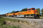 BNSF 9260 leads WPS MTs from Green Bay SB