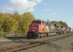 CN 2242 leads M347, our third straight northbound manifest