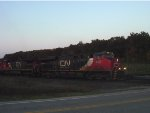 CN 2331 and two other GEs struggle upgrade with M346 as the sun sets