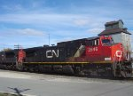 CN 2546 leads a southbound manifest