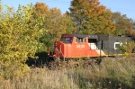 CN 5639 leads M347 NB through the fall colors