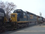 CSX 8388 is the 4th unit on this northbound CN manifest