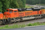 BNSF 9291 DPU on SB coal train