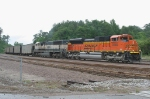 BNSF SB loaded coal train