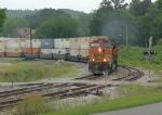 BNSF NB intermodal