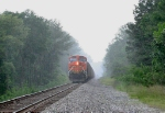 BNSF 5797 DPU on NB coal train