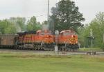 BNSF train meet