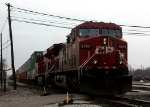 CP 9709 leads X500 out of the yard