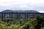 Metro North OCS over Moodna Viaduct