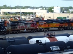 BNSF 660 and 4934