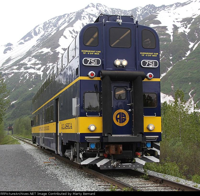 Alaska RR DMU 751