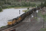 Eastbound UP coal train coming off the Craig Branch