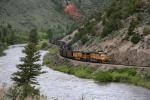 Eastbound UP coal train