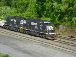 Norfolk Southern 3414 and 3431