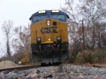 CSXT 881 from the rail