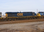 CSXT 907 on the Engine Track