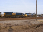 CSXT 907 & 13 on the Engine Track