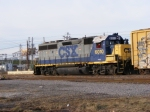 CSX 6010 working the Yard