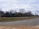 A Nice Christmas Eve Surprise! CSXT 4787 along with 2 matched Mother/Slug Sets!