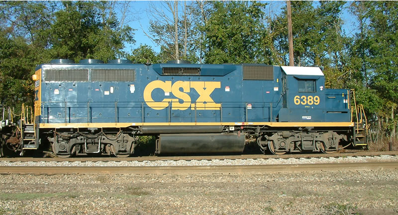 CSX 6389 is ex-GA